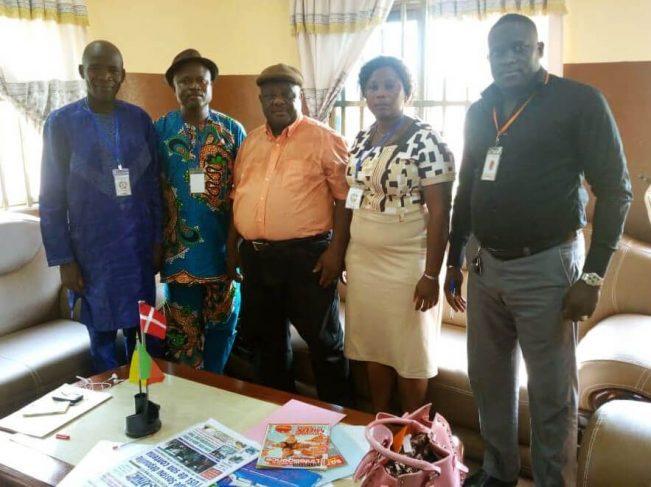 Rencontre du Bureau Régional Ouémé-Plateau avec le Maire d'Adjohoun