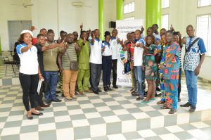 Célébration de l'an 5 des ODD, CAS-ODD ONG en conférence à l'Université d'Abomey-Calavi
